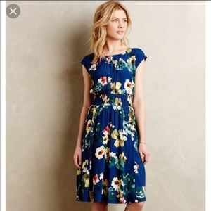 Anthropologie Maeve Evaline dress Joanna Gaines
